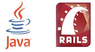 java ruby on rails
